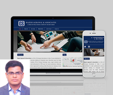 Website design for Rajesh Agrawal & Associates
