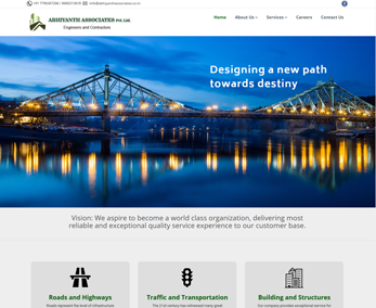 Website design for Constructions